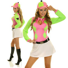 horse racing jockey costume