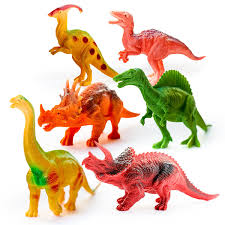 imaginative dinosaurs small large plastic