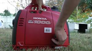 honda eu1000i generator testing review noise youtube