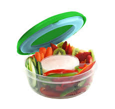 Unique Fruit Bowl Amazon Com Fit U0026 Fresh Fruit And Veggie Bowl With Removable Ice
