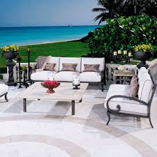 cast aluminum patio furniture home design by fuller
