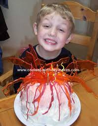 coolest volcano cakes photos and how to tips