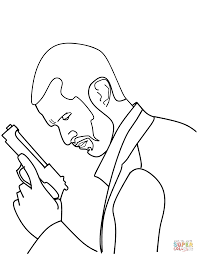 police detective coloring page free printable coloring pages