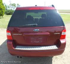 2007 ford freestyle limited suv item db2579 sold july 5