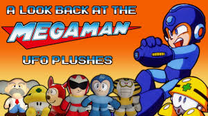 a look back at the mega man ufo catcher plushes youtube