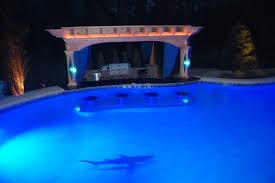 custom poolside pergola