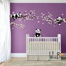 imaginez ces autocollants adorable panda décorer la chambre de votre