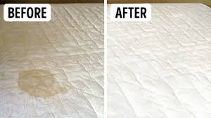 how to clean stains a mattress with baking soda vinegar