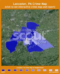 map of lancaster pa lancaster pa crime rates and statistics neighborhoodscout