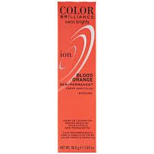 ion color brilliance semi permanent neon brights hair color blood