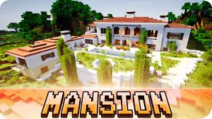 minecraft beautiful italian mansion house map w download