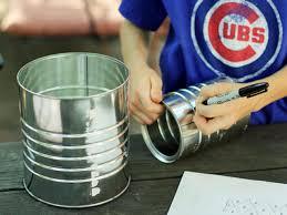 halloween tin cans how to make a tin can lantern hgtv