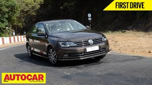 volkswagen jetta ads 2015 volkswagen jetta first drive autocar india youtube