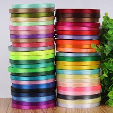 cheap ribbons 2 8 6mm 25 yards cheap satin ribbon arts crafts sewing white