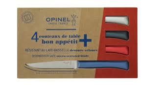 Opinel Kitchen Knives Set Of 4 Table Knives N 125 Bon Appetit Primo Variegated