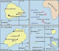 africa map islands helena island atlantic britannica
