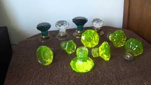 glass crystal door knobs door knobs uranium glass crystal puxadores em vidro cristal