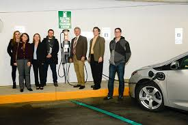 electronic charging station city of glen cove introduces new electric vehicle charging station