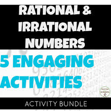 rational and irrational numbers sort activity interactive