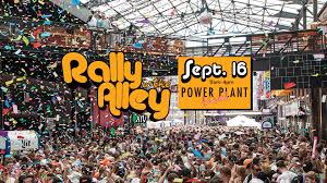 rally in the alley events at power plant live