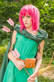 clash of clans archer queen clash of clans archer cosplay by kristinacosplay on deviantart