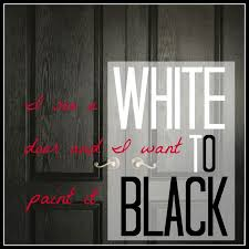 Painted Interior Doors Painting Interior Doors Black Hometalk