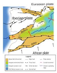 Valencia Spain Map by Geology Of The Iberian Peninsula Wikipedia