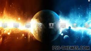 themes com ps3 themes space bound theme