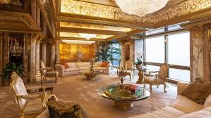 trumps home in trump tower donald trump s new york penthouse inside his trump tower home
