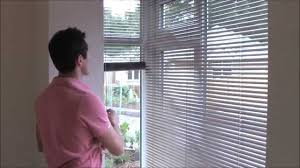 fitting venetian blinds in a bay window youtube youtube