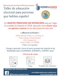 anyone in nevada county looking to build an affordable cabin sized voter ed workshops for nevada county s spanish speakers the sierra