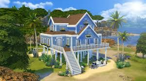 House Beach by The Sims 4 Speed Build Melrose Beach House Youtube