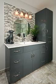 Vanity World Small Master Bathroom Ideas For A Contemporary Bathroom With A