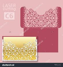 Invitation Cards For Wedding Laser Cut Wedding Invitation Card Template Vector Wedding