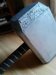 thor s hammer mjolnir halloween 2012 by princesshyrule on deviantart