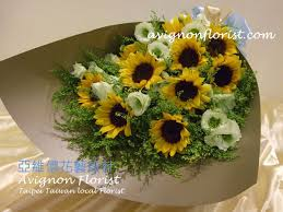 sunflower delivery sunflower bouquet 亞維儂花藝設計avignon florist taipei flower
