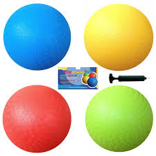Set Of 4 8 5 Inch Playground Balls Set Of 4 With 1
