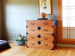 asian dressers asian style dresser 2 section wood clothing chest pertaining to