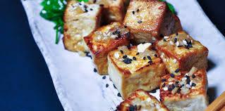 cuisiner tofu poele tofu poêlé et sa salade d herbes fraîches facile et pas cher