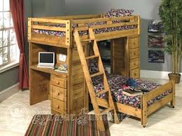 loft bed full size with desk wow your bedroom with unique bunk