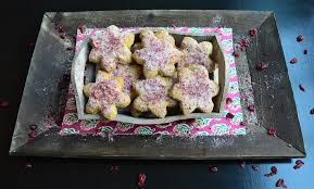 polvoron cookie with cardamom and cranberry somehow the cardamom