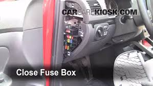 Volkswagen Jetta 2002 Interior Interior Fuse Box Location 2005 2014 Volkswagen Jetta 2010