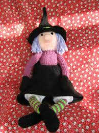 alan dart hand knitted witch perfect halloween decoration 22 00