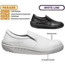 chaussure de cuisine noir jumbo chaussure de sécurité blanche ou noir cuisine s2 agro