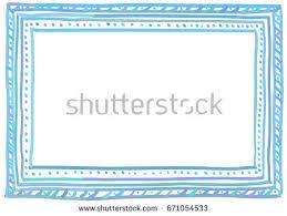 doodle presentations set handdrawn doodle style picture frames stock vector 530006173
