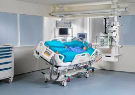 rotating hospital bed intensive care bed multicare linet beds mattresses
