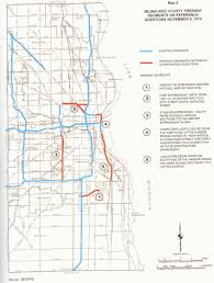 Map Of Milwaukee Milwaukee U0027s Freeway Past