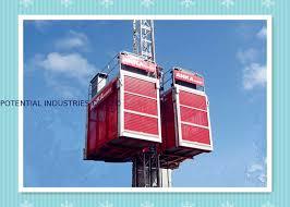ascensore a cremagliera doppia gabbia ascensore della cremagliera da 2 tonnellate per i
