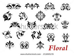 5 floral ornaments free vector stock graphics images