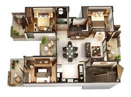 three bedroom house plans 50 three 3 bedroom apartment house plans bedroom apartment